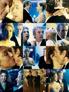 """Doctor Who """" The Husbands of River Song """" CHRISTMAS SPECIAL - the Doctor #PeterCapaldi and River Song #AlexKingston"""