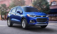 Check out pictures of the 2017 Chevrolet Trax here!