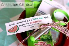 I am in love with this graduation gift idea! So fun! happymoneysaver.com