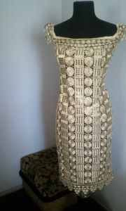 African lace dress