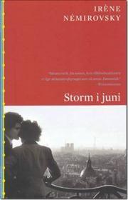 Storm i juni af Irene Nemirovsky, ISBN 9788779732247