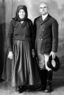 Idős házaspár, 1933_ Nagy Béla fotós, Székelykeresztúr