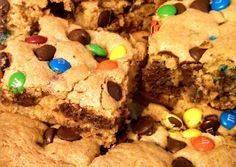 Cookie Bars Recipe -  Yummy this dish is very delicous. Let's make Cookie Bars in your home!