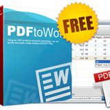 Get PDF to Word Converter software for FREE. Expires on Nov 11, 2012. This software is Fast, Accurate, Simple Way to Convert PDF to Word and can Convert a 100-page PDF file in 1 minute.