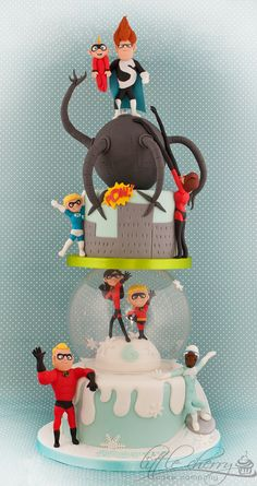 The-Incredibles-Cake