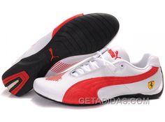 Mens Puma Future Cat Big Ferrari White Red Online 437aea3c5