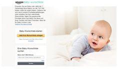 Entdecke neue Produkte mit der Amazon Baby-Box