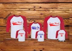 Family Birthday Shirts For Babys First Baseball