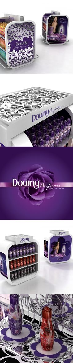 New Downy Perfume Collection. Shopper branding. Mercado: Mexico www.tmgroupweb.com