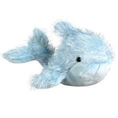 Webkinz Plush Stuffed Animal Blue Whale