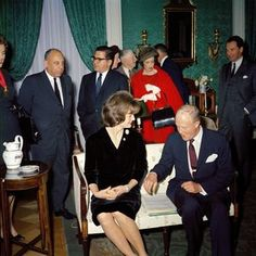 First Lady Jacqueline Kennedy's (JBK) Tea for the Committee for White House Paintings - John F. Kennedy Presidential Library & Museum