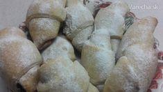 Smotanové plnené rožky (fotorecept) - recept | Varecha.sk Bread, Food, Brot, Essen, Baking, Meals, Breads, Buns, Yemek