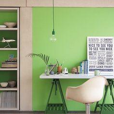 Little Greene Study - Phthalo Green Heyse Lifestyle Studio Hannover. The Little Greene Stockist mit eigener Farbmischanlage in Hannover. Little Greene Paint, Diy Home Decor, Interior, Vintage Home Offices, Green Interior Design, Green Home Offices, Green Interiors, Bright Green Paint Colors, Home Decor