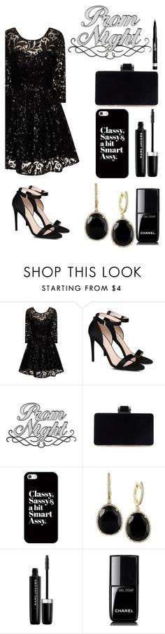 """""""Prom"""" by sheetal2002 ❤ liked on Polyvore featuring Chi Chi, STELLA McCARTNEY, Casetify, Effy Jewelry, Marc Jacobs, Chanel, Rimmel and promdoover"""