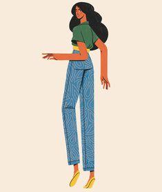 Flat Illustration, Character Illustration, Graphic Design Illustration, Digital Illustration, Character Design Animation, Character Design References, Cute Cartoon Wallpapers, Photoshop, Design Art