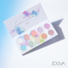 Zoeva Cosmetics: Sweet Glamour Eyeshadow Palette Zoeva Cosmetics is bringing us the springtime palette of all springtime palettes – does this not just instantly make you think Easter? Their Sweet Glamour Eyeshadow Palette will launch TOMORROW, Smokey Eyeshadow, Eyeliner, Smokey Eye Makeup, Skin Makeup, Beauty Makeup, Makeup Kit, Makeup Tools, Makeup Inspo, Makeup Brushes