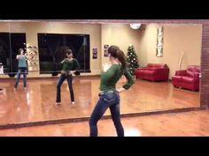 Maria Ivanova demos the move from ladies salsa styling musicality workshop at DF Dance Studio in Salt Lake City Utah