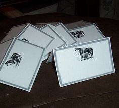 horse place cards
