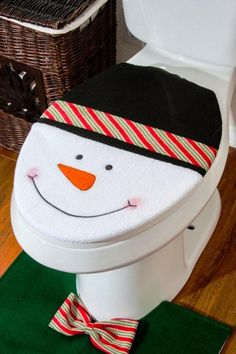 15 Toilet Covers And Rugs For The Bathroom