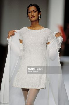 Ready to wear Spring/Summer 1994 in Paris, France on October 09, 1993 - Valentino.