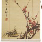 Oriental Unlimited Sakura Blossom Bamboo Blinds