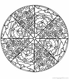 free coloring mandalas for kids free printable coloring pages free coloring