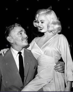 Clark Gable & Mamie Van Doren Teacher's Pet, 1958
