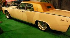 Elvis' 1962 Lincoln Continental he had flown out to Las Vegas Nevada and he needed a car to get around Town in and in true Elvis Style he purchased a new one. allmonautopart@yahoo.com
