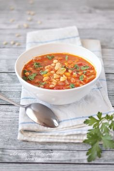 Soup Recipes, Vegan Recipes, Cooking Recipes, I Want To Eat, Aga, Chana Masala, Food Photography, Curry, Veggies