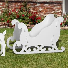 Product is shipped out the next business day after you order. Typical UPS delivery times are 3-5 business days. This gives you plenty of time before Christmas if you order today. Our Elegant Sleigh wi