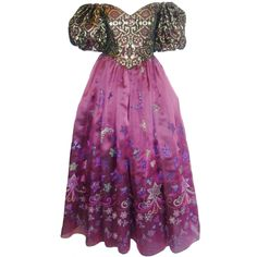 1stdibs | Zandra Rhodes 'When You Wish Upon a Star' Gown