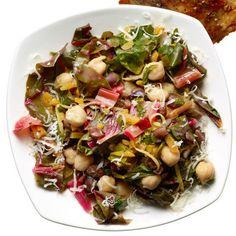Salada morna de grão-de-bico | 28 saladas vegetarianas que vão te saciar por completo