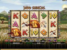 Spilleautomat 300 Shields - 300 Shields er en 5-hjuls-spilleautomat der du kan aktivere opptil 25 gevinstlinjer. Noe av det aller beste her er hvor fritt du står til å velge innsats.