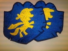 Cutie mark crusader crest logo patch