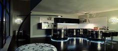 Majestatyczne bryły oraz niesamowite kształty kuchni Domina wyszły spod rąk mistrzów włoskiego designu, z firmy Aster.