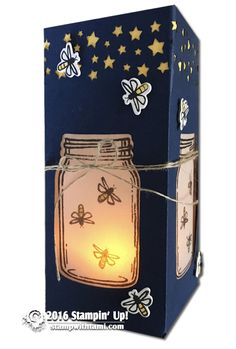 VIDEO SERIES: Firefly Luminary Gift Set – Part 2 – The Box | Stampin Up Demonstrator - Tami White - Stamp With Tami Crafting and Card-Making Stampin Up blog