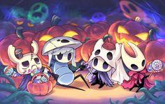 pumpkins on candlesticks * pumpkins on candlesticks , candlesticks and pumpkins , candlesticks with pumpkins , pumpkins candlesticks Halloween Art, Happy Halloween, Tea Japan, Knight Tattoo, Team Cherry, Hollow Night, Hollow Art, Knight Art, Game Art