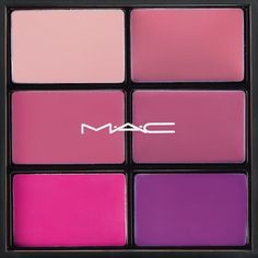 Mac Pink Lipstick Palette Violetta, Lovelorn, Please me, Creme de La femme, pretty please, snow orchid.Used 2-3 times. 99.999% of product remaining. MAC Cosmetics Makeup Lipstick