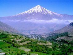 Mt. Damavand in Iran