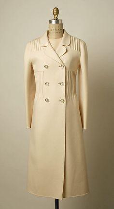 Wool Coat and Dress, Valentino, c. 1968.