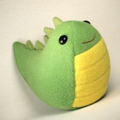 Slimey Plushie by Saint-Angel.deviantart.com on @deviantART super cute ,kawaii loch ness monster,dragon plushie