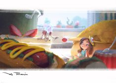 ArtStation - Jelly in the kitchen, X TRAIN