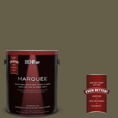 BEHR MARQUEE Home Decorators Collection 1-gal. #hdc-FL13-9 Squirrel's Nest Flat Exterior Paint