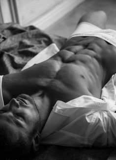 Lor or Ryodan shirtless, waiting for the nightclub-gal-of-the-moment to service him - Fever Series by Karen Marie Moning