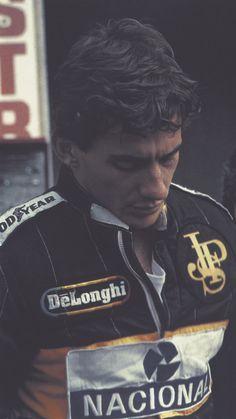 Ayrton Senna. He should be Him :)