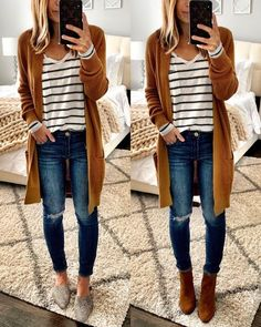 Fall Style // Chic fall outfit idea.