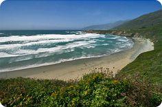 .:. Hiking in Big Sur - Sand Dollar Beach Trail .:.