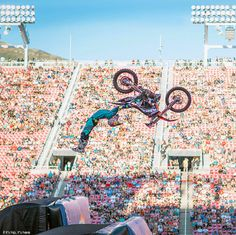 In these highlights from The Nitro World Games you'll see some seriously insane FMX, BMX, skate, scooter and inline athletes perform record-breaking stunts.