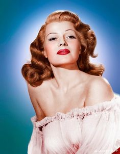 Rita Hayworth  Guillermo A. via Ton van de Merwe onto Redheads