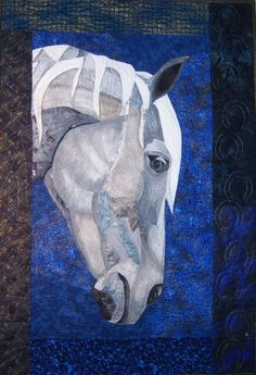 horse artquilts, TeaRose Quilt Designs, collectable artwork in the Berkshires, specializing in horse quilts, great gifts designs from nature Gallery II